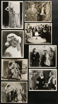 1s995 LOT OF 8 CONSTANCE BENNETT REPRO 8X10 STILLS 1980s beautiful portraits & movie scenes!