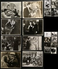 1s985 LOT OF 20 REPRO 7X9 STILLS 1980s top Hollywood stars in classic movie scenes!