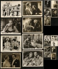 1s065 LOT OF 21 SWEDISH STILLS 1930s-1940s great scenes from a variety of different movies!