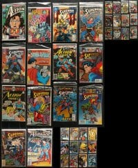 1s102 LOT OF 38 SUPERMAN COMIC BOOKS 1980s-1990s D.C. Comics, great stories of The Man of Steel!