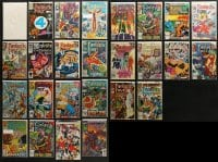 1s101 LOT OF 26 FANTASTIC FOUR COMIC BOOKS SOME FEATURING JIM LEE ART 1984 cool!