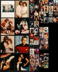 1s967 LOT OF 90 COLOR 8X10 REPRO PHOTOS 2000s great images from a variety of movies!