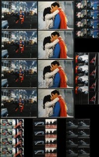 1s980 LOT OF 48 COLOR SUPERMAN II 8X10 REPRO PHOTOS 1980 superhero Christopher Reeve!