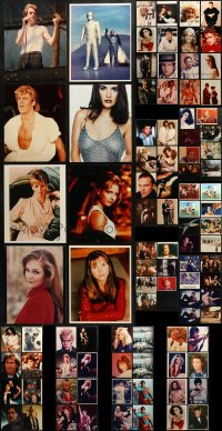 1s966 LOT OF 103 COLOR 8X10 REPRO PHOTOS 2000s great images from a variety of movies!