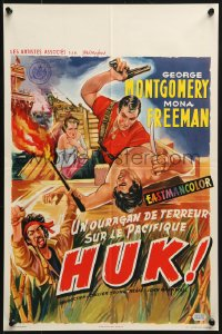 1t444 HUK Belgian 1956 earth-quaking terror of the killer-horde of the Philippines!