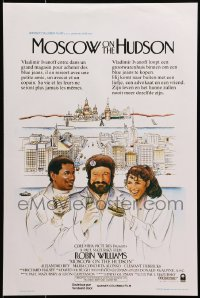 1t460 MOSCOW ON THE HUDSON Belgian 1984 controversial artwork of Russian Robin Williams by Craig!