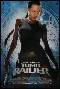 1w790 LARA CROFT TOMB RAIDER advance 1sh 2001 sexy Angelina Jolie, from adventure video game!