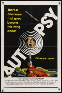 1y061 AUTOPSY 1sh 1977 Macchie solari, Mimsy Farmer, Primus, horror goes beyond the living dead
