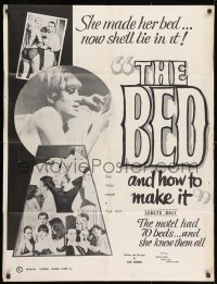 1y080 BED & HOW TO MAKE IT 1sh 1966 Francine Ashley, Judson Todd, Patricia McNair, Barbara Kemp!