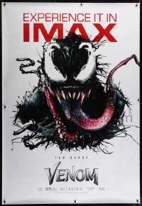 2k016 VENOM IMAX DS bus poster 2018 great art of Tom Hardy as the creepy Marvel Comics superhero!