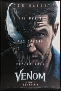 2k020 VENOM wilding 48x72 special poster 2018 Tom Hardy transforming into the Marvel Comics hero!