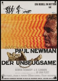 2m177 COOL HAND LUKE German 1967 great art of escaped convict Paul Newman by Rolf Goetze!