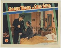 2m269 20,000 YEARS IN SING SING LC 1932 Bette Davis watches Spencer Tracy fight with Louis Calhern!