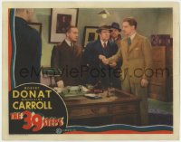 2m272 39 STEPS LC 1935 Alfred Hitchcock classic, police put innocent Robert Donat in handcuffs!