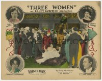 2m271 3 WOMEN LC 1924 charity ball gives society excuse to be like bohemians, Ernst Lubitsch, rare!