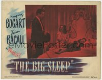 2m278 BIG SLEEP LC #6 1946 Humphrey Bogart with sexy Lauren Bacall & passed out Martha Vickers!