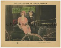 2m279 BLACKSMITH LC 1922 Virginia Fox sees a limousine from Buster Keaton's horse buggy, very rare!