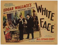 2m268 WHITE FACE TC 1933 Hugh Williams, Edgar Wallace's most popular mystery drama, very rare!