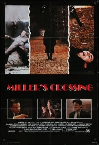 2m217 MILLER'S CROSSING int'l 1sh 1990 Coen Brothers, Gabriel Byrne, Marcia Gay Harden, different!