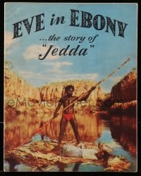 2m184 JEDDA THE UNCIVILIZED Australian program book 1956 Eve in Ebony, the story of Ngarla Kunoth!