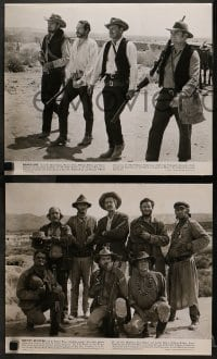 2m202 WILD BUNCH 12 deluxe 11x14 stills 1969 Peckinpah, great movie scenes + candid photos!