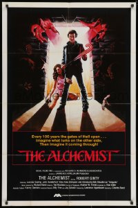 2p027 ALCHEMIST int'l 1sh 1985 directed by Charles Band, Robert Ginty, Lucinda Dooling!