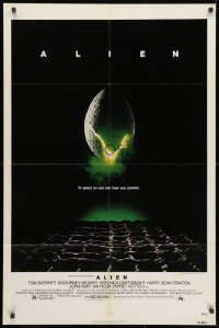 2p028 ALIEN NSS style 1sh 1979 Ridley Scott outer space sci-fi monster classic, cool egg image!