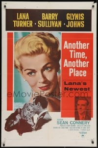 2p048 ANOTHER TIME ANOTHER PLACE 1sh 1958 sexy Lana Turner has an affair with young Sean Connery!