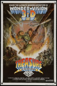 2p912 TREASURE OF THE FOUR CROWNS int'l 1sh 1983 Fernando Baldi's El Tesoro de las Cuatro!