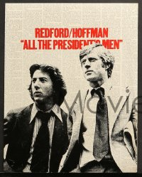 2r002 ALL THE PRESIDENT'S MEN 15 color 11x14 stills 1976 Hoffman & Redford as Woodward & Bernstein!