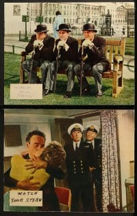 2r377 WATCH YOUR STERN 8 English LCs 1961 English comedy, Kenneth Connor, Eric Barker!