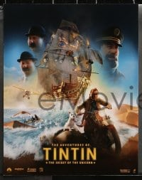 2r010 ADVENTURES OF TINTIN 10 LCs 2011 Steven Spielberg's version of the Belgian comic!