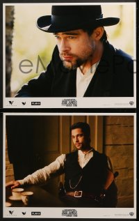 2r011 ASSASSINATION OF JESSE JAMES 10 LCs 2007 Brad Pitt, Casey Affleck, Sam Shepard, outlaws!
