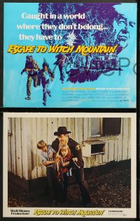 2r018 ESCAPE TO WITCH MOUNTAIN 9 LCs 1975 Disney, Eddie Albert, Ray Milland, Donald Pleasance!