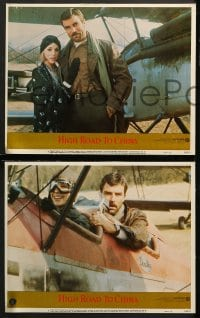 2r420 HIGH ROAD TO CHINA 7 LCs 1983 images of aviator Tom Selleck & Bess Armstrong!