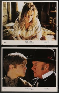 2r282 QUICK & THE DEAD 8 LCs 1995 Sharon Stone, Gene Hackman, DiCaprio, Russell Crowe, Raimi!