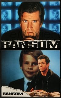 2r519 RANSOM 6 LCs 1996 Mel Gibson, sexy Rene Russo, directed by Ron Howard!