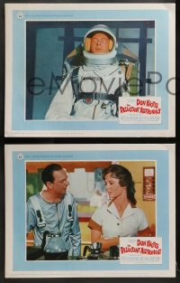 2r287 RELUCTANT ASTRONAUT 8 LCs 1967 wacky Don Knotts in the maddest mixup in space history!