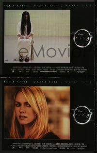 2r292 RING 8 LCs 2002 Ringu, sexy Naomi Watts, creepy Daveigh Chase, directed by Gore Verbinski!