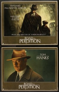 2r007 ROAD TO PERDITION 11 LCs 2002 directed by Sam Mendes, Tom Hanks, Paul Newman, Jude Law!