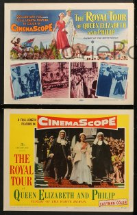 2r298 ROYAL TOUR OF QUEEN ELIZABETH & PHILIP 8 LCs 1954 a full length feature in CinemaScope!