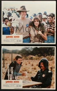 2r300 SAFARI 3000 8 LCs 1982 great images of racer David Carradine & sexy Stockard Channing!