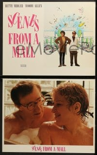 2r304 SCENES FROM A MALL 8 LCs 1991 Woody Allen, Bette Midler, directed by Paul Mazursky!