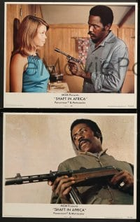 2r310 SHAFT IN AFRICA 8 LCs 1973 Richard Roundtree stickin' it all the way in the Motherland!
