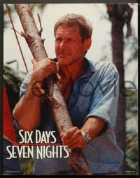 2r448 SIX DAYS SEVEN NIGHTS 7 LCs 1998 Ivan Reitman, Harrison Ford & Anne Heche stranded on island!