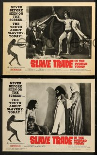 2r320 SLAVE TRADE IN THE WORLD TODAY 8 LCs 1965 the smuggled motion pictures of a sheik's harem!