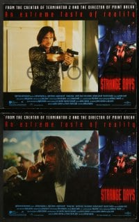 2r332 STRANGE DAYS 8 int'l LCs 1995 blue close-up of Ralph Fiennes, you know you want it!