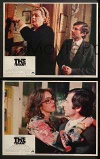 2r531 TENANT 6 LCs 1976 Le Locataire, no one does it to you like Roman Polanski!