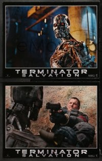 2r005 TERMINATOR SALVATION 12 LCs 2009 Christian Bale, Sam Worthington, cool sci-fi images!