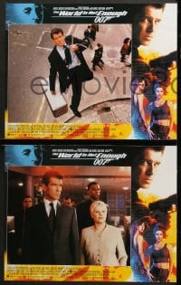 2r006 WORLD IS NOT ENOUGH 12 LCs 1999 Pierce Brosnan as James Bond, Denise Richards, Sophie Marceau!